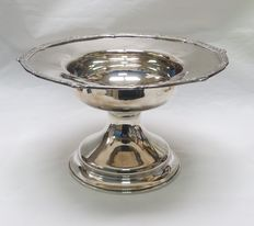 Sterling Silver fruit bowl or centrepiece Spain Late 19th century