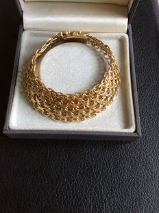18 kt gold bracelet 1968 from Sweden