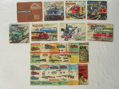 Märklin H0 - 8 Catalogues and 2 folders, period  from 1959 to 1968