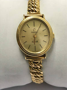 Ladies' Gold Omega Watch