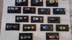 Leo Models - Scale 1/18 - Lot with 16 models: Honda, Yamaha, Ducati & Aprilla