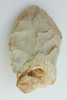 Neanderthal Hand Axe with Inclusion - 193 Grams, 9 x 7cm