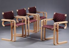 Rud Thygesen and Johnny Sørensen for Magnus Olesen/Botium - Set of four chairs