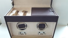 Little Switzerland watch winder for two watches + storage space for 3 watches