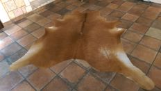 Cow hide - brown white