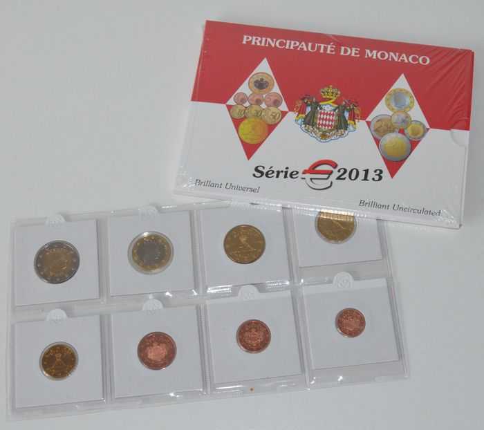 "Monaco – Year pack 2013 ""Albert II""."