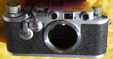 Leica IIIF only body in excellent condition, fully functional