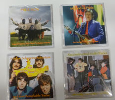 Complete set of four Limited Edition Rarities cds
