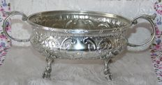 Beautiful antique sterling silver hunting trophy by Emile Delaire, from the period between 1898 and 1908, French hallmarks