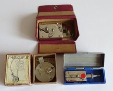 Vintage - 3 Self-timers  - M&V - Autoknips IV -  D.B.K.  Germany and Switzerland.