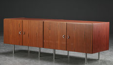 Dansk furniture producer – set of two sideboards in rosewood veneer