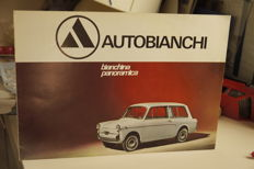 Autobianchi - Lot of 16 brochures 60s/70s/80s