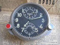 Original Russian( СССР/USSR ) watch 56 - ACHX (1 -МЧЗ) for the supersonic fighters MiG-29. The end of the 20th century chronograph
