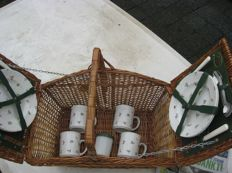 Picnic basket rare model