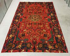 Room Size Rare Tribal Hand Woven Persian Nahavand Rug 255x160 cm EXCELLENT condition