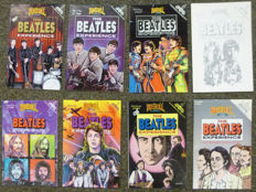 the Beatles Story in Comics : Full Collection of eight Beatles comics from the usa