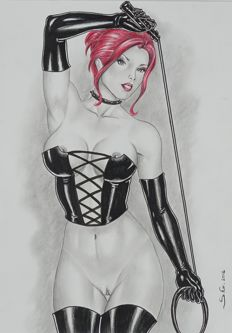 BDSM art; Ion Mihail - Domina - 2016
