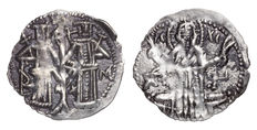 Bulgarian Kingdom - Ivan Alexander & Michael - 1331-1355 AD - Assen - Grosh