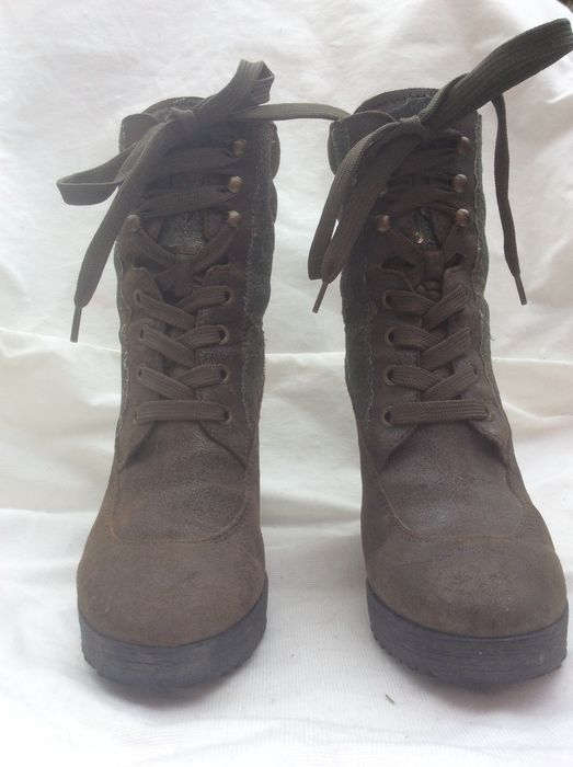 Hogan - lace up ankle boots - Catawiki 7512a8a05700