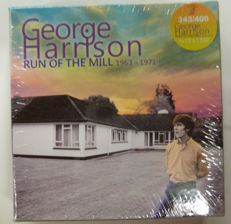 """Limited Edition Boxset : The most early recordings of George Harrison : """"Run of the Mill 1963-1971"""""""