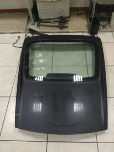 Rear lid for  Porsche Cayman 987 2005 - 08 + back glass