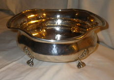 Large Solid Silver Bowl  - Italian silversmith (Calegaro Brothers - 1946-68)