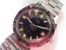 SUBIM Submariner 20 meters - WORLD TIME - men's wristwatch Late 1970s