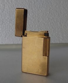 Dupont PARIS lighter gold-plated