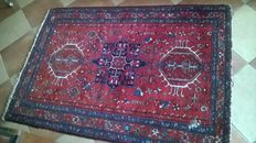Very old Persian Karaja carpet 1.47 m x 1.04 m