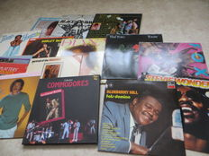 SOUL, various artists, lot of fifteen (15) LP's from the sixties, seventies and eighties