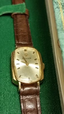 Very rare Revue Swiss - 18 kt solid gold