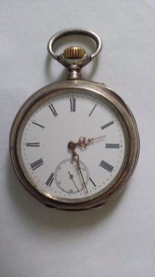 IWC pocket watch MEN SILVER 1920l