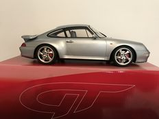 GT-Spirit - 1/12 scale - Porsche 993 Turbo - silver