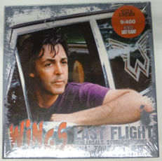 """Wings """"last flight"""" set : Limited Edition Boxset with 12 cds and two dvd with the last live shows of Paul McCartneys band Wings"""