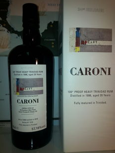 Caroni 20 Years 1996 Heavy 100º Proof Velier