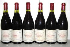 1982 Santenay, Royer-Lebon, Lot of 6 bottles