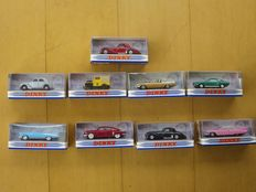 The Dinky Collection (Matchbox) - Scale 1/43 - Lot with 9 models: 9 x Dinky models