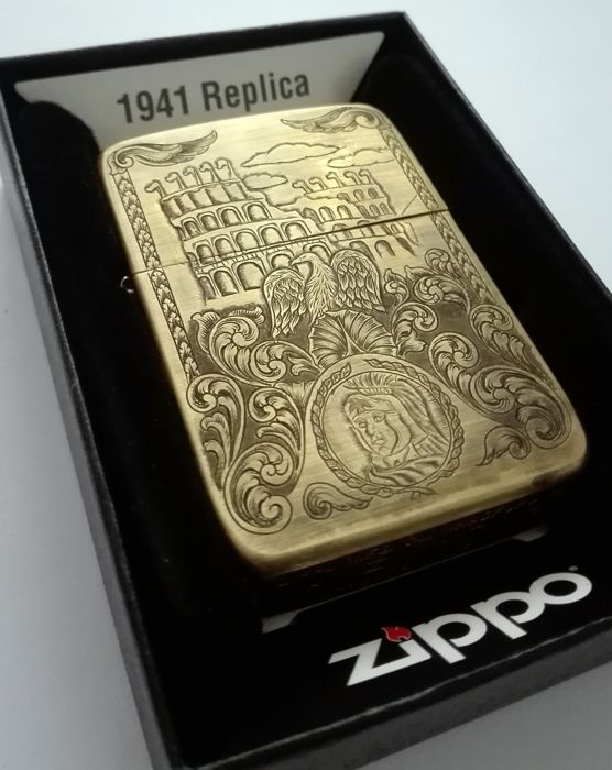 Hand Engraved Zippo Lighter By Artist Catawiki