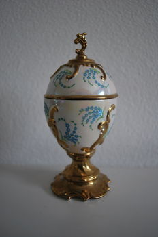 """House of Fabergé - Musical Egg Collector - """"Forget me not"""" - with certificate of authenticity"""