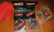 Diverse - Scale 1/43 - Lot of 6 model: 6 x Ferrari F1