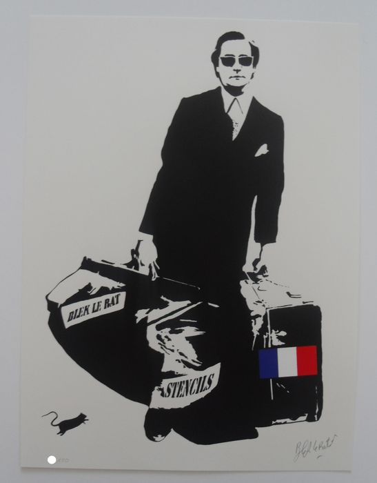 Blek Le Rat - The man who walks through wall's (French edition)