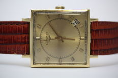 Longines. Men's wristwatch. From the 1950s.