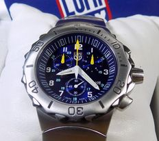 Luminox F-16 - Military style - Blue - 2000's - 200 Meters - Men's Chronograph