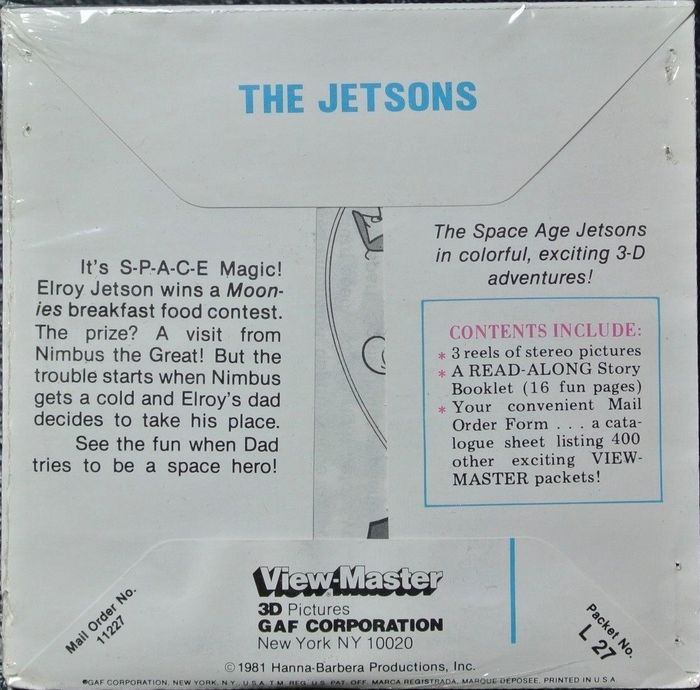 A Special View Master Gift Box The Jetsons Time Capsule Catawiki