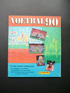 Panini - Voetbal 90 - Complete album - In beautiful condition - Including order form.
