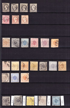 Luxembourg 1852/1880 – collection from Prifix 1 onwards.