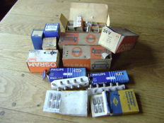 Lot of car lights Osram Philips - 24 volts