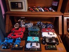 Different Brands - 1/18, 1/24, 1/43 - 23 Cars