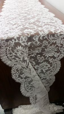 Chantilly lace from Italian private collection, 1925 ca.