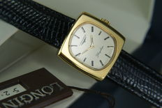 Longines Flagship – Classic   18 kt yellow gold plated women's watch – 1960s is not used, mint condition.